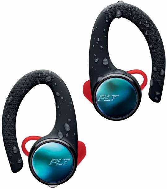 PLANTRONICS Backbeat Fit 3100 211855-99 Headphones With Mic (Black) Bluetooth Headset