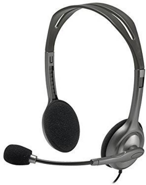 Logitech H111 Stero Headset with mic Wired Headset