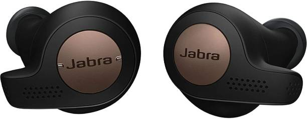 Jabra Elite Active 65T True Wireless Sports Earbuds, Charging Case Bluetooth Headset