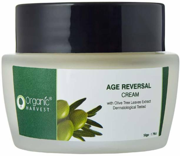 Organic Harvest Age Reversal Cream, Helps in Anti Ageing, ECOCERT & PeTA Certified, Paraben & Sulphate Free - 50gm