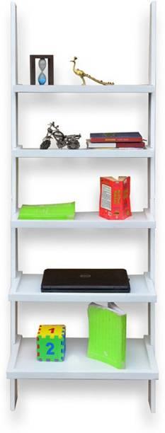 webshoppee Engineered Wood Open Book Shelf