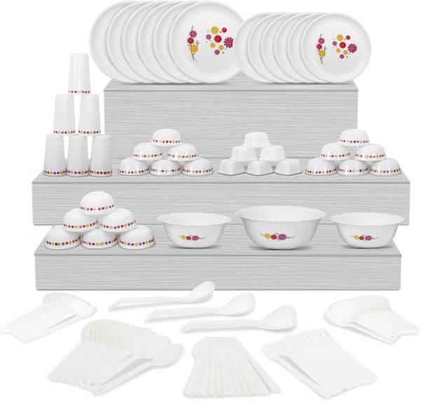 Cutting EDGE Pack of 108 Plastic Dinner Set