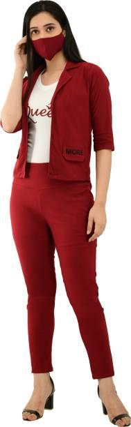 NEYSA Women Maxi Maroon Dress