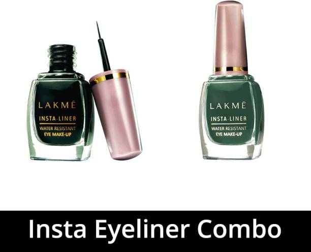 Lakmé Insta Eyeliner Combo 9 ml