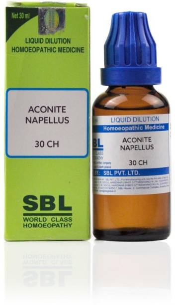 SBL Aconite Napellus 30CH Liquid