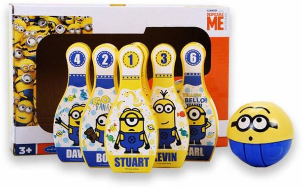 Minion Minion 3D Playball with Bowling Set Bowling