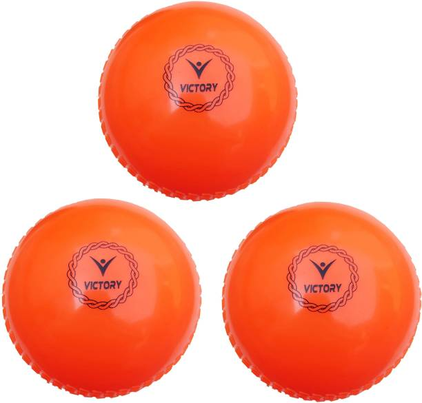 VICTORY Cricket Wind Ball (Pack of 3) Cricket Synthetic Ball