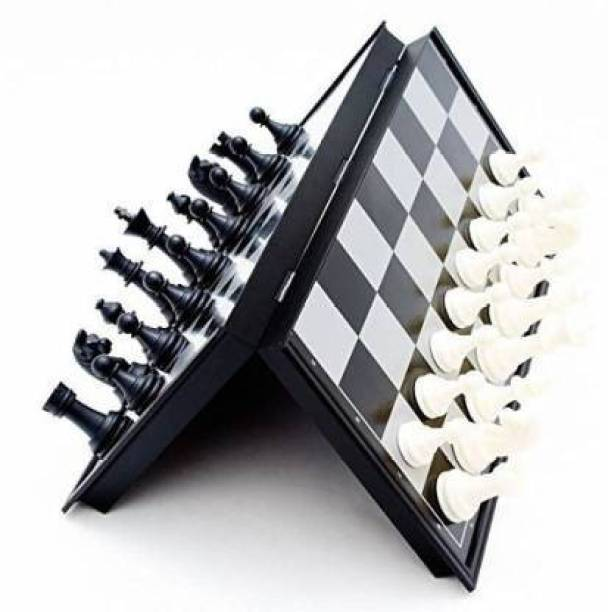 CrazyBuy Magnetic Chess Set Multicolour Strategy & War Games Board ,Game Board Game Strategy & War Games Board Game Strategy & War Games Board Game