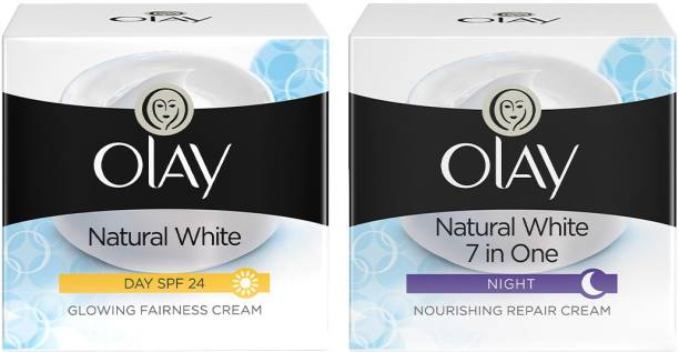OLAY Natural White day plus night combo