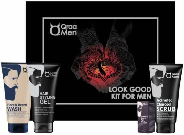Qraa Diwali Combo Look good kit for Men