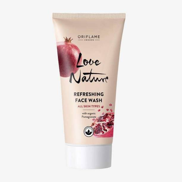 Oriflame Sweden Nature Refreshing  with Organic Pomegranate Face Wash