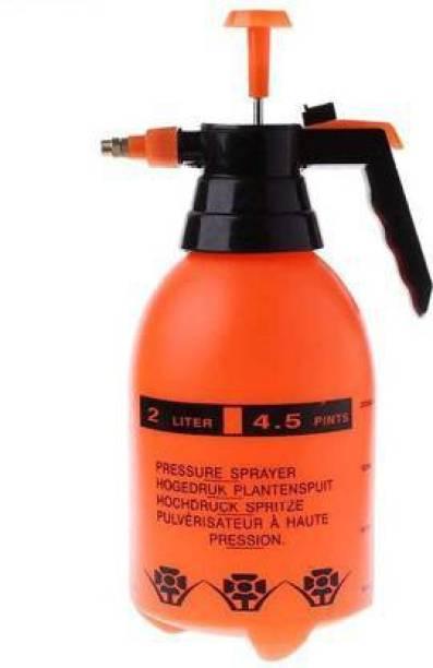 Legion Garden Pump Pressure Sprayer Lawn Sprinkler Water Mister Spray Bottle for Herbicides, Pesticides, Fertilizers, Plants Flowers 2 Liter Capacity 2 L Hand Held Sprayer