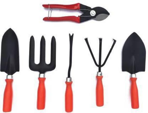 FitnHit Gardening Tool Kit and Pruner Combo Garden Tool Kit (6 Tools) Garden Tool Kit