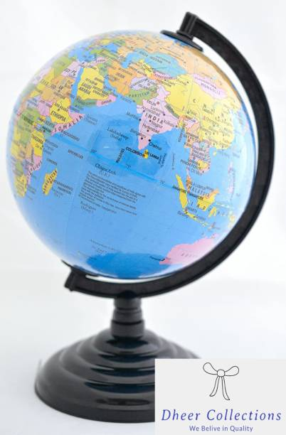 Dheer Collections Desk & Table Top World Globe globe Political Globe Political World Globe