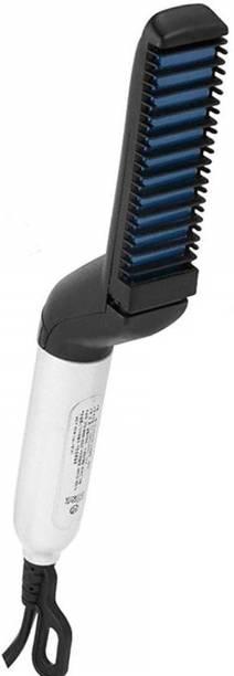 Wonder World ™XIXI - IJ - IJ787 - Curly Hair Straightening Comb Curler, Beard Straightener Hair Styler