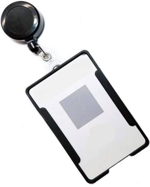 Ang Plastic ID Badge Holder