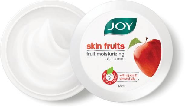Joy Skin Fruits Fruit Moisturizing Skin Cream with Jojoba and Almond Oil, for all skin type
