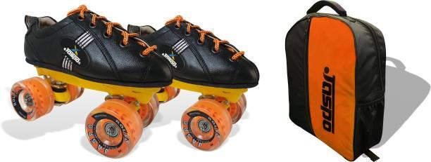 Jaspo Roadster Quad Roller Blade Shoe Skates Quad Roller Skates - Size UK - 9