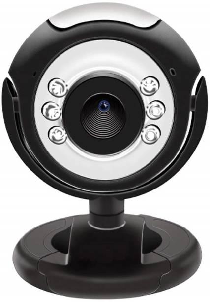 CRETO QHM495LM 30MP Night Vision Auto Focus, Web Camera for PC/Laptop, Work and Study Online  Webcam