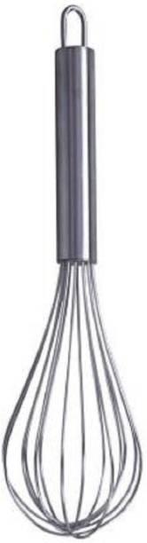 UPTOP Stainless Steel Stainless Steel Whisker/ Beater/ Egg Whisk/ Balloon Whisk Stainless Steel Balloon Whisk Hand Whisk Steel Balloon Whisk