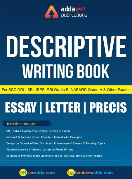 Descriptive Writing Book for SBI, RBI, IBPS, LIC & Other Examinations