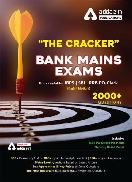 The Cracker Mains Exams Book