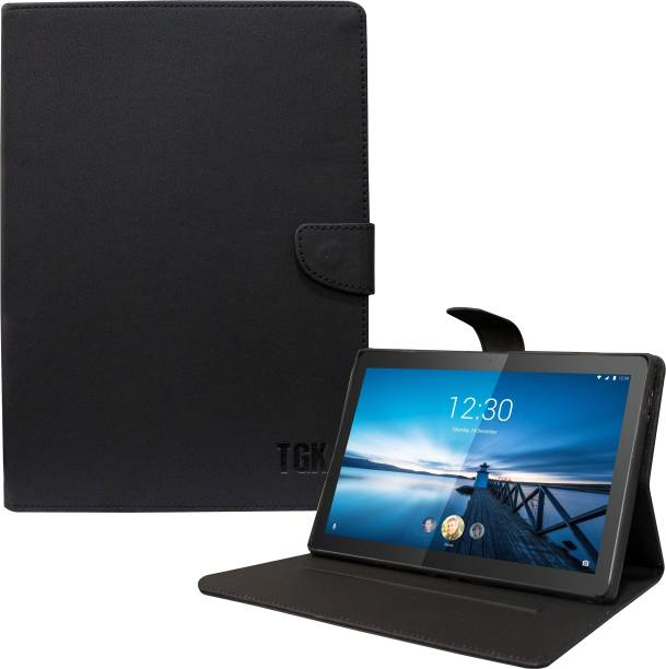 TGK Flip Cover for Lenovo Tab M10 10.1 inch FHD REL [Compatible Model: TB-X605LC, TB-X605FC]