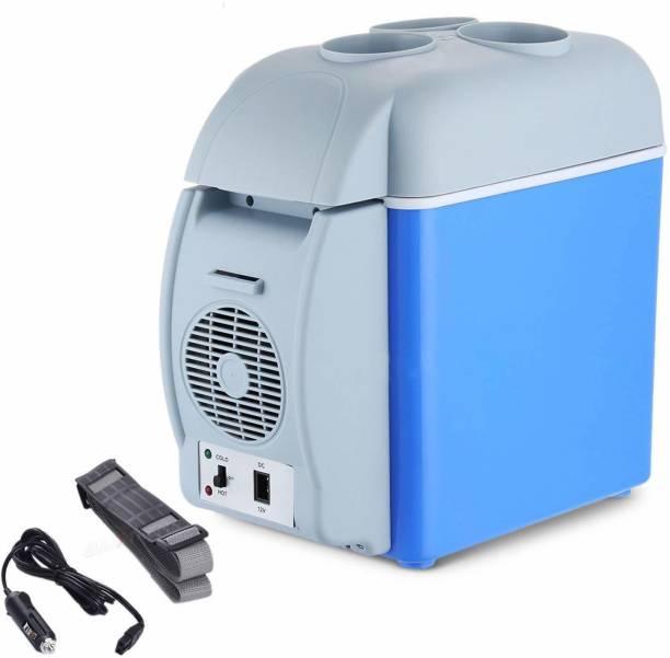 LAKSH FASHION CAR FRIDGE 7.5L Mini Car Refrigerator 7.5L 12V Portable Electric Fridge Heater Freezer for Car, Camping, Travel, Road Trip 7.5 L Car Refrigerator