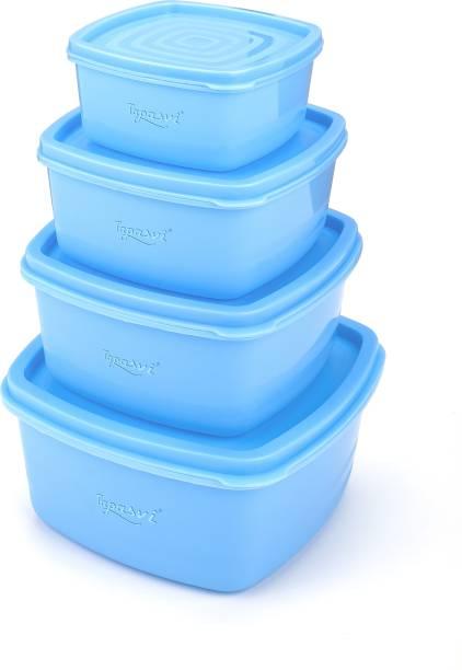 TAPASVI Air Tight Container  - 500 ml, 1350 ml, 250 ml, 750 ml Plastic Fridge Container