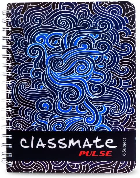 Classmate Pulse Book-size Notebook Unruled 300 Pages