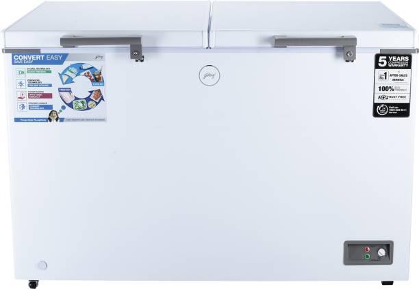 Godrej 400 L Double Door Standard Deep Freezer