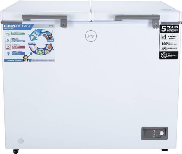 Godrej 300 L Double Door Standard Deep Freezer