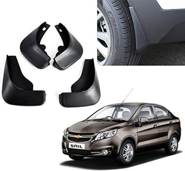Grownshine Front Mud Guard, Rear Mud Guard For Chevrolet Sail 2015, 2017, 2018, 2019