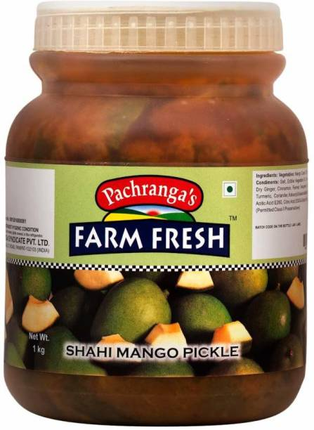 Pachranga's Farm Fresh Fresh Shahi Mango Pickle - 1 kg Mango Pickle