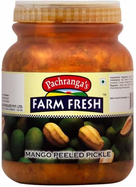 Pachranga's Farm Fresh Fresh Mango Peeled Pickle - 1 kg Mango Pickle