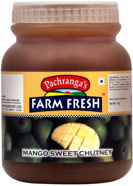 Pachranga's Farm Fresh Fresh Mango Sweet Chutney (1 Kg) Mango Pickle
