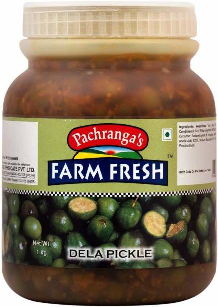 Pachranga's Farm Fresh Fresh Dela Pickle - 1 kg Dill Pickle
