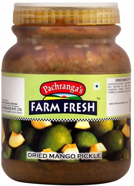 Pachranga's Farm Fresh Fresh Dried Mango Pickle - 1 kg Mango Pickle