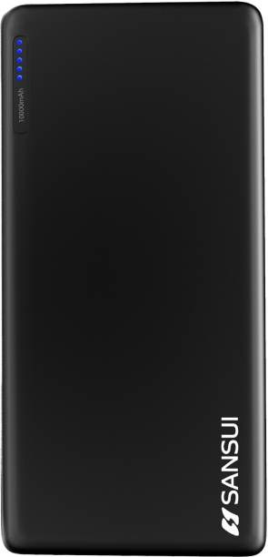 Sansui 10000 mAh Power Bank (12 W, Fast Charging)