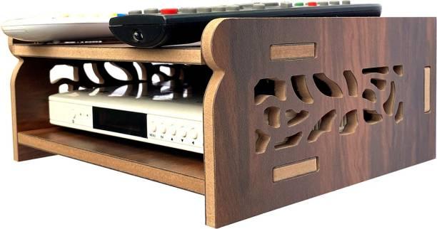 Flipkart SmartBuy Smart Dual STB Stand (WB) Wooden Wall Shelf