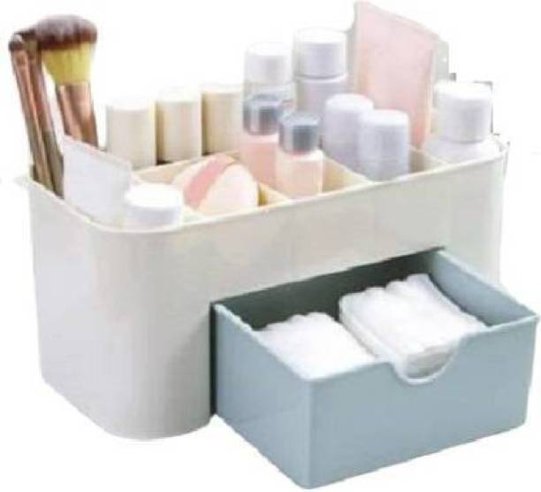 Collectrio Cosmetic Storage Box Multi Functional Desktop Storage Boxes Make Up, Jewellery Vanity Box Cosmetic Storage Box Vanity Box