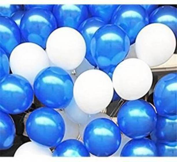 BBS DEAL Solid ( Pack of-25 pcs ) BS04 Solid HD+ Latex Metallic Balloon for Happy Birthday, New Year , festival, Decorations Balloon