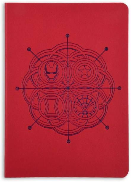 doodle Avengers World Notebook A6 Notebook Ruled 114 Pages