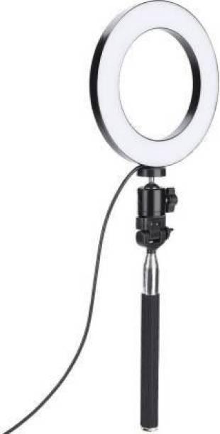 AEV Selfie LED Ring Light for Live Streaming Ring Flash