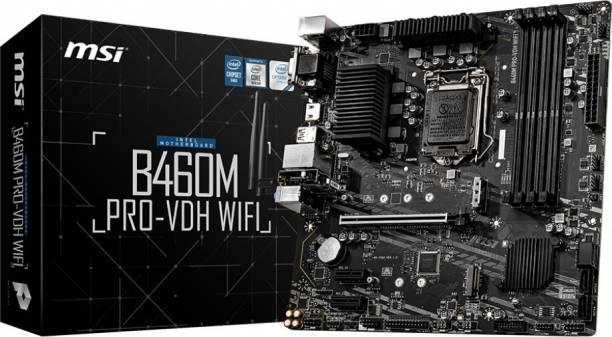 MSI B460M PRO-VDH WIFI Mini-ATX LGA 1200 Gaming Motherboard