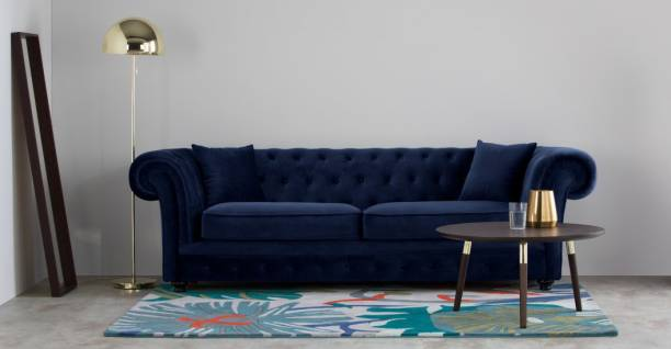 The Royal Nest Fabric 3 Seater  Sofa
