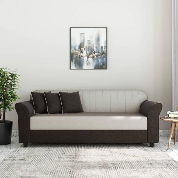 gnanitha Fabric 3 Seater  Sofa