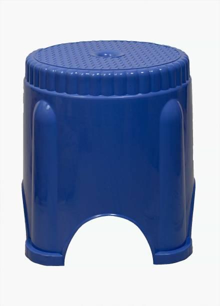 mastBus (1 Pcs) Bathroom Stool Big   Stool For Living Room (Blue) Bathroom Stool