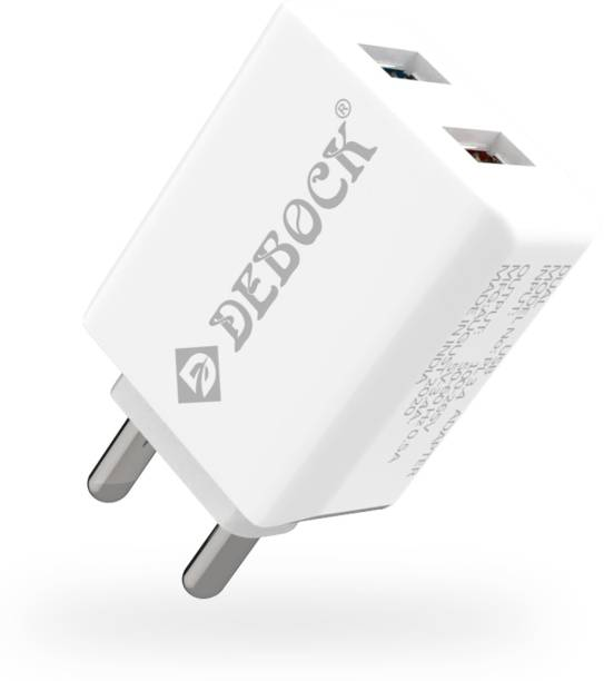 DEBOCK dbch02 17 W 3.4 A Multiport Mobile Charger with Detachable Cable