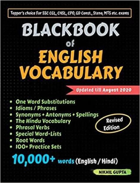 Blackbook of English Vocabulary